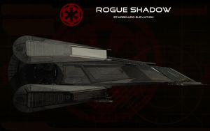 Rogue Shadow Starboard elevetion by unusualsuspex