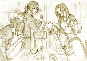 Morning cookies by Sanzo-Sinclaire