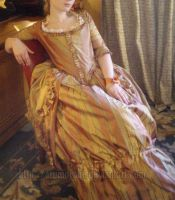 Robe a l'anglaise 1775 by Arumorahe