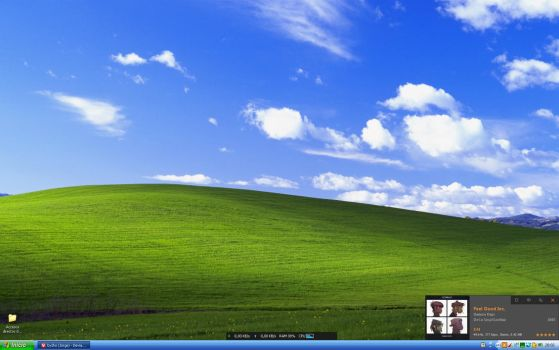 I with my old Windows XP! by byzho