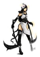 White Akali _Before by TrinityStar436
