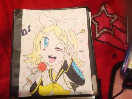 Kagamine Rin! by colourfulart82