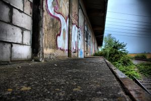Old Trainstation HDR by Misterooo