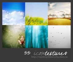 55 icon textures by mysteryofobscurity