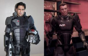 Mass Effect Cameo: Mark Meer as Conrad Verner by ImWithStoopid13