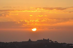 Sunset over Rome by ali-cato