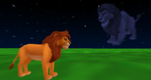 MMD Newcomer Spirit Mufasa + DL by Valforwing