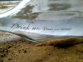 Drink me, Drown your sorrows 3 by Petpettails123
