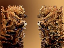 Double Dragons by gabriela2006