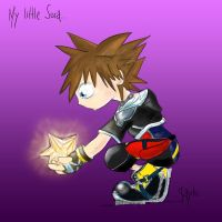 Chibi Sora- Kingdom Hearts by Miss-JaYtO13