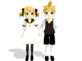 :MMD: Adolescence :chibi: by PuniPudding