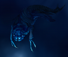 Abyssal creature by Feath3rFace