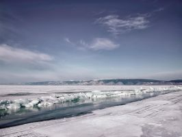 background - ice under pressure - sibiria by 8moments