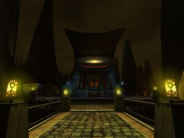 The Great Library of Ae'Gura by Alhon