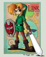 Link the forest warrior by FlintofMother3