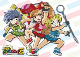 Powerpuff Girls Z by XJKenny