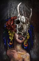 day of the dead by Monaku