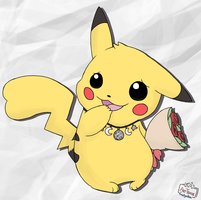 Pikachu (AT) by LeoTheLionel