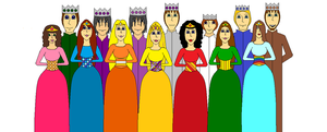Kings and Queens by MayeGirl