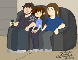 Me n the Grumps by jojo263