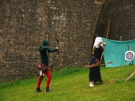 Medieval Archers 2 by Dragoroth-stock