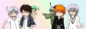 Beelzebub and Bleach by shatteredpetal