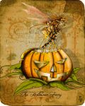 THe Halloween faery by clv