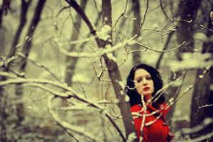 Girl In Red by beyondimpression