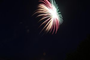 Tri-Coloured Fireworks by jegowrie