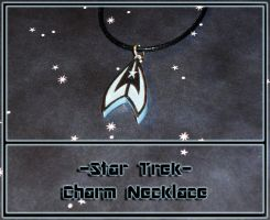 Star Trek - Logo Charm Necklace - Handmade by YellerCrakka