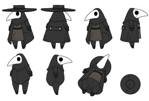 Plump Plague Doctor Plush by bezzalair by ShouldBee