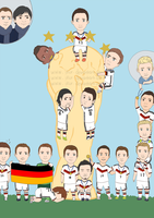 Weltmeister 2014 | Champions of the World by ikur