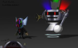 League Skin idea- Daft Punk Rumble by metalliam