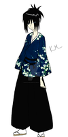 Samurai Champloo - OC - Yuu by myfriends-nobody