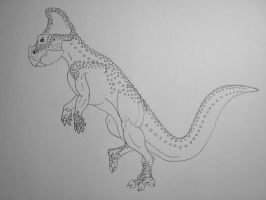 Protoceratops Andrewsii Ink by Raptor-Chick