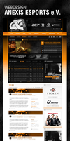 Anexis Esports Webdesign by ryKoGOD