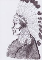 the red indian by moehawk37