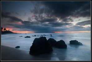 Poolenalena Beach, Maui by IgorLaptev