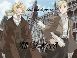 AMV - Ed X Hei - All I Need by dead-starfish