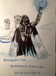 SW-Christmas 3 Frozen Vader by JuanaSunfall