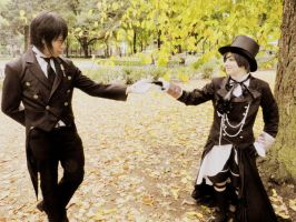 Kuroshitsuji: This way my Lord...take my hand by Catchmewithyourlips