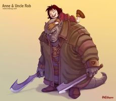 Anne and Uncle Rob by ion-rei