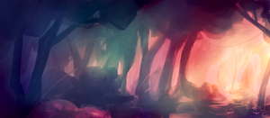 forest of lost essences by Slitherbot