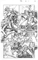 X-Men Schism 5 Page 8 Sample by thecreatorhd