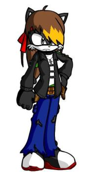 Me if i ever was a Furry by ShadowWolf77464