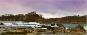 Rheinfall by KrisSimon