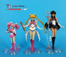 Sailor Moon Custom Figuarts by zelu1984