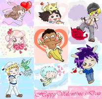Happy Valentine's day to all by Wingsie