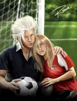 soccer and love by RamaChan