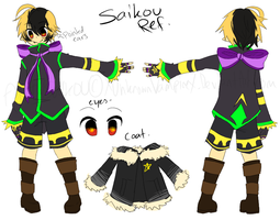 X- New Saikou Ref -X by XUnknownVampireX